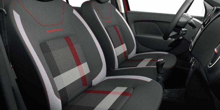 Dacia Techroad interior