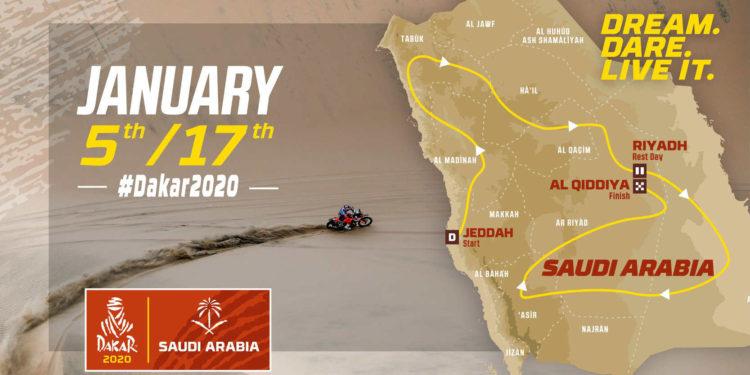Dakar 2020 traseu