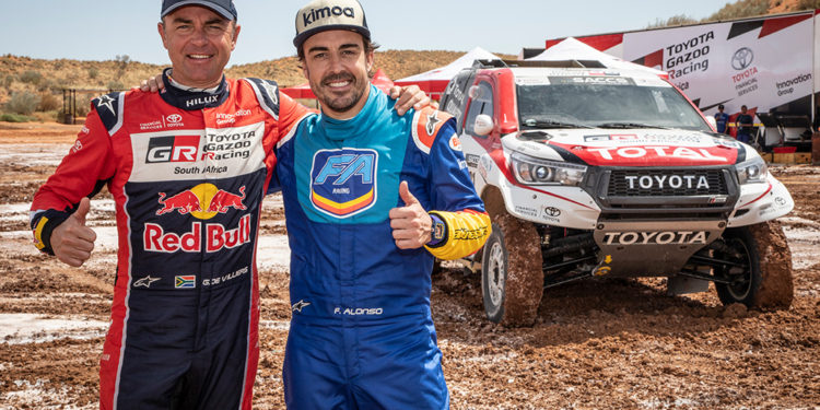 Fernando Alonso Test Rally Raid 2019