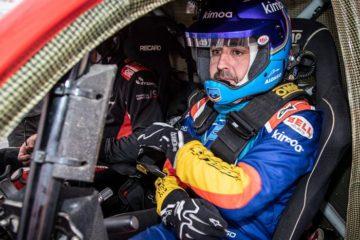 Fernando Alonso Test Rally Raid