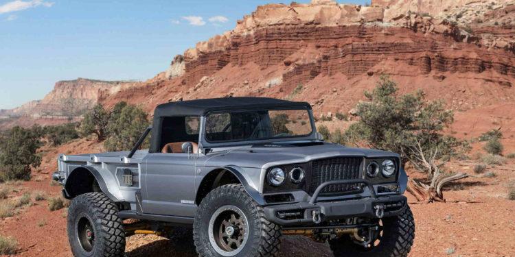 Jeep Five Quarter restomod M715 Gladiator