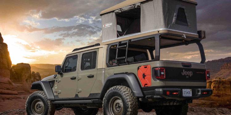 Jeep Wayout Concept Gladiator