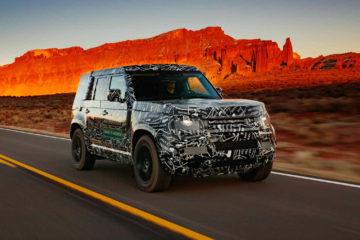 viitorul Defender Land Rover 2020