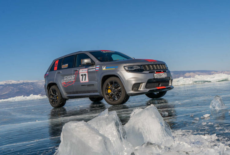 Jeep Grand Cherokee Trackhawk record