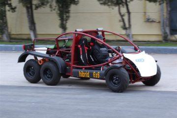 Buggy 6x6 hibrid - Mai tare ca ARO